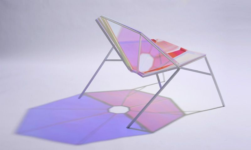 Colorful Transparent Chair Random8 by Pitaya Design 3