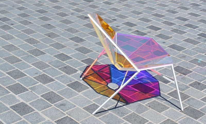 Colorful Transparent Chair Random8 by Pitaya Design 5