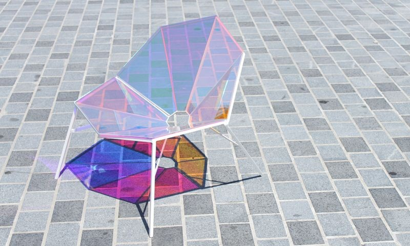 Colorful Transparent Chair Random8 by Pitaya Design 7