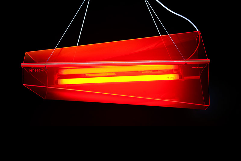 Reheat Lamp Inspired by Concorde Airliner 1