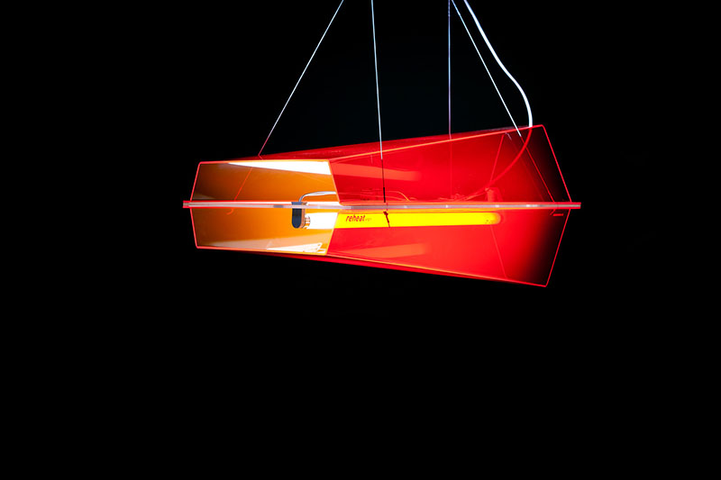 Reheat Lamp Inspired by Concorde Airliner 2