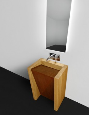 CORTEN - Modern Bathroom Sink Design
