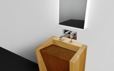 CORTEN – Modern Bathroom Sink Design