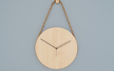 Hanging Clock by Lukas Peet Design