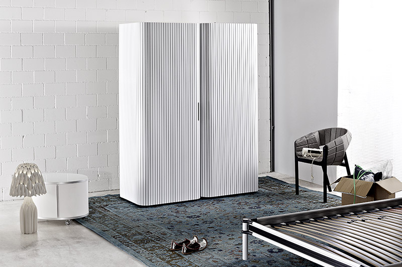 Modern Wardrobe Design with Roller Door 1