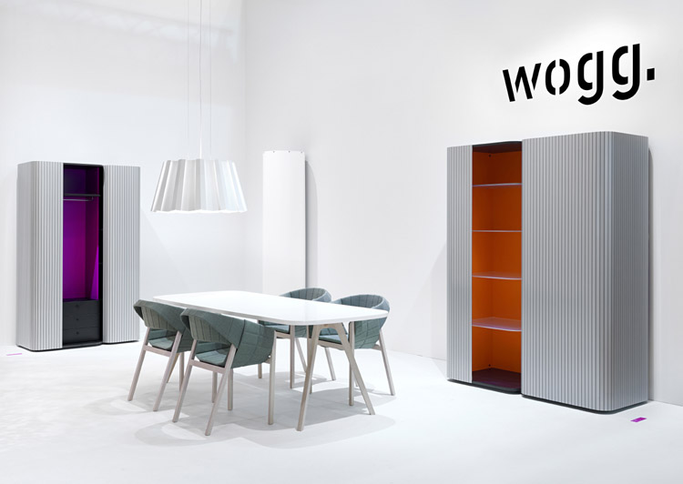 Modern Wardrobe Wogg 49 with Roller Door 6