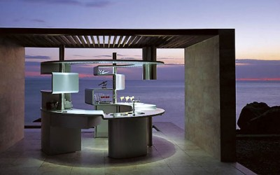 Elegant, Round Kitchen Acropolis by Snaidero