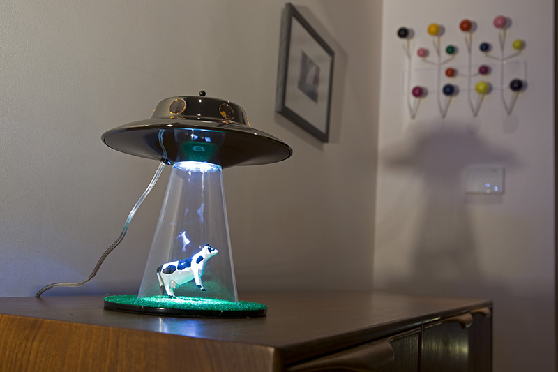 Alien Abduction Lamp By Lasse Klein