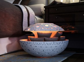 Canoon Space Heater by Younes Duret