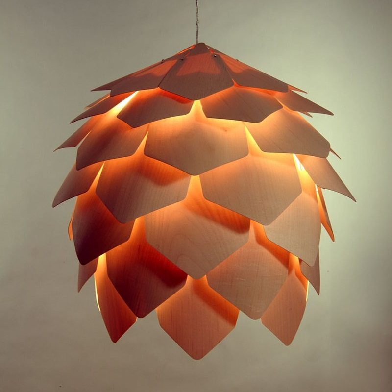 Crimean Pinecone Lamp 1