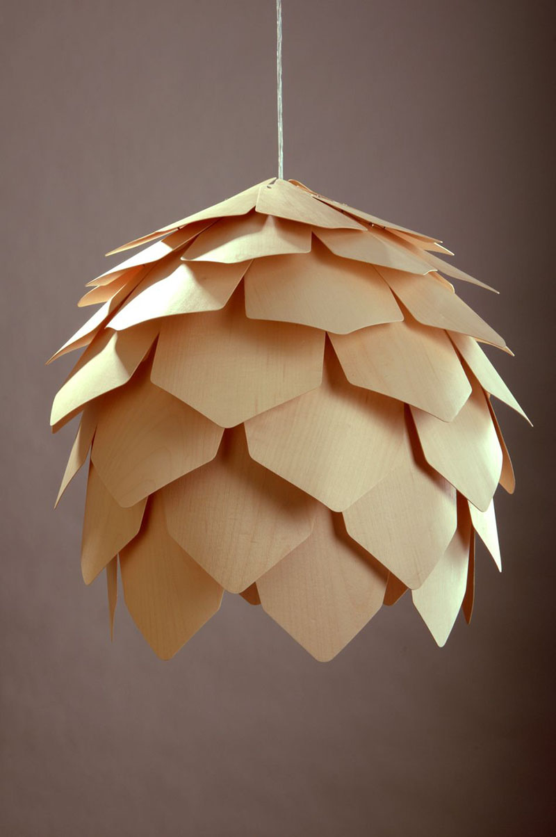 Crimean Pinecone Lamp 5
