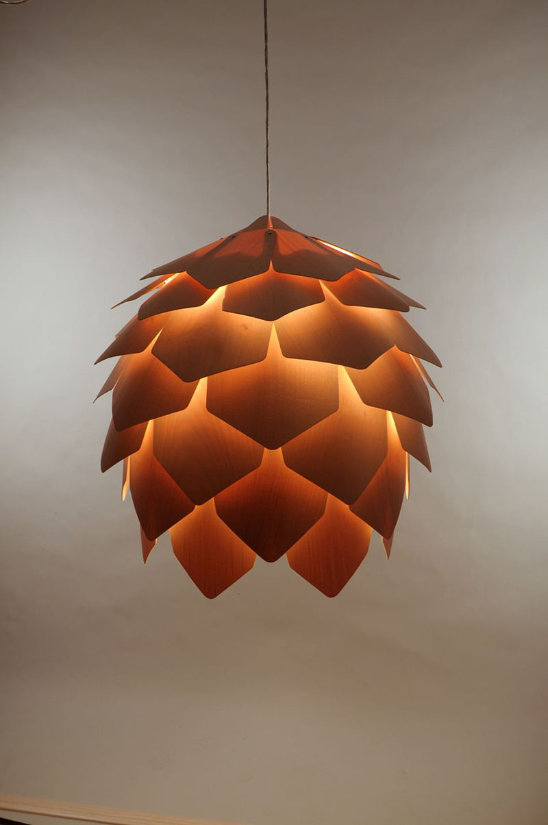Crimean Pinecone Lamp 6