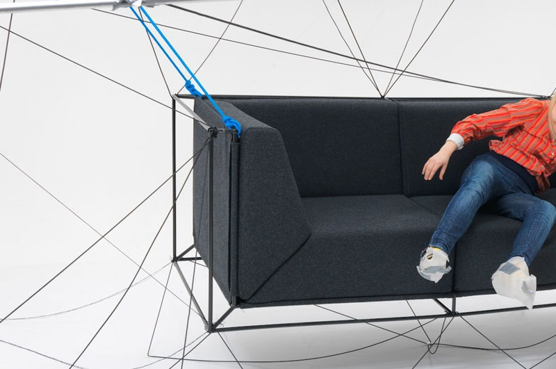 Awesome Floating Sofa By Philippe Nigro 3 Nice Design