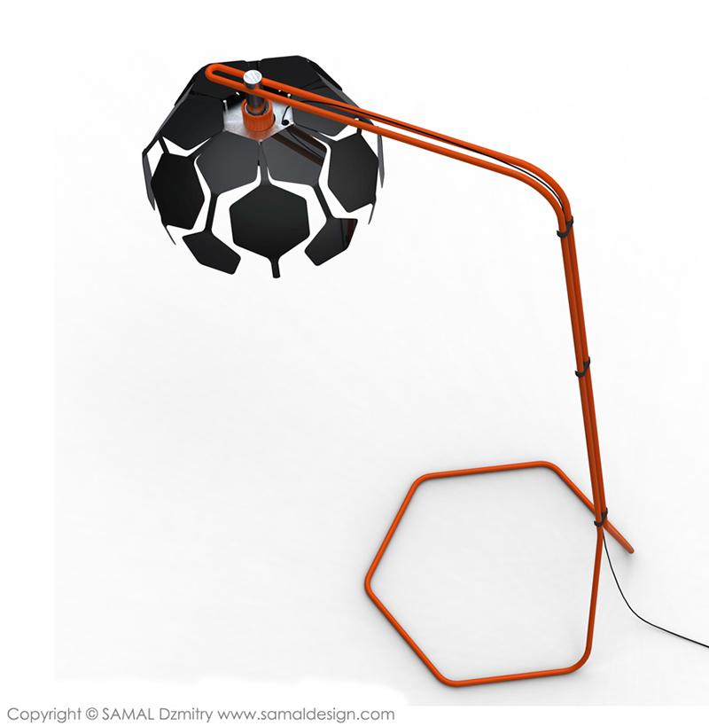 Foot Lamp by Samal Design 4
