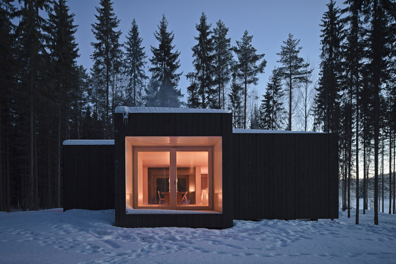 Four-Cornered Villa by Avanto Architects 1