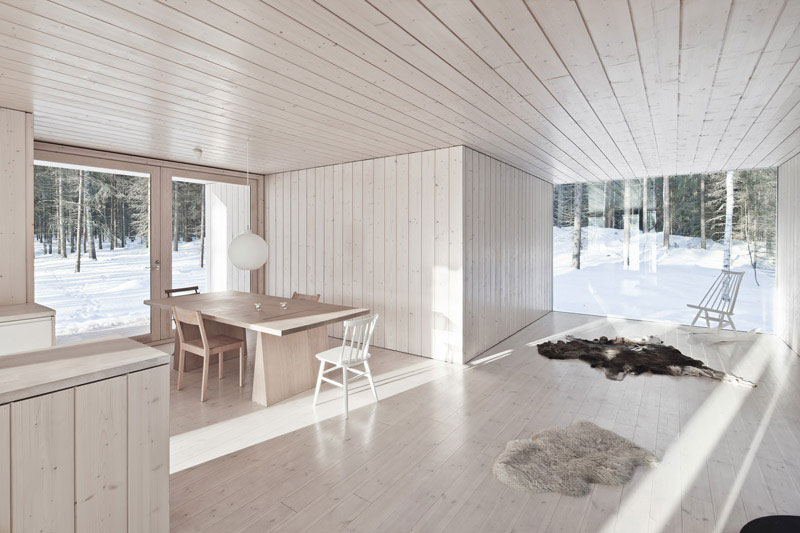 Four-Cornered Villa by Avanto Architects 5