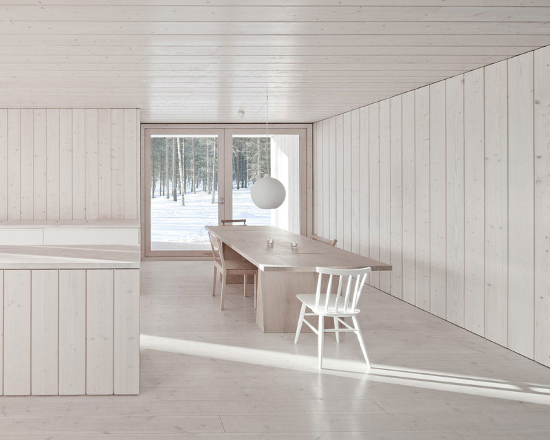 Four-Cornered Villa by Avanto Architects 6