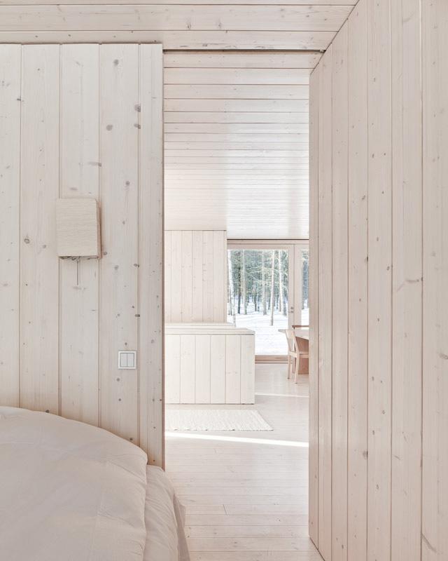 Four-Cornered Villa by Avanto Architects 7