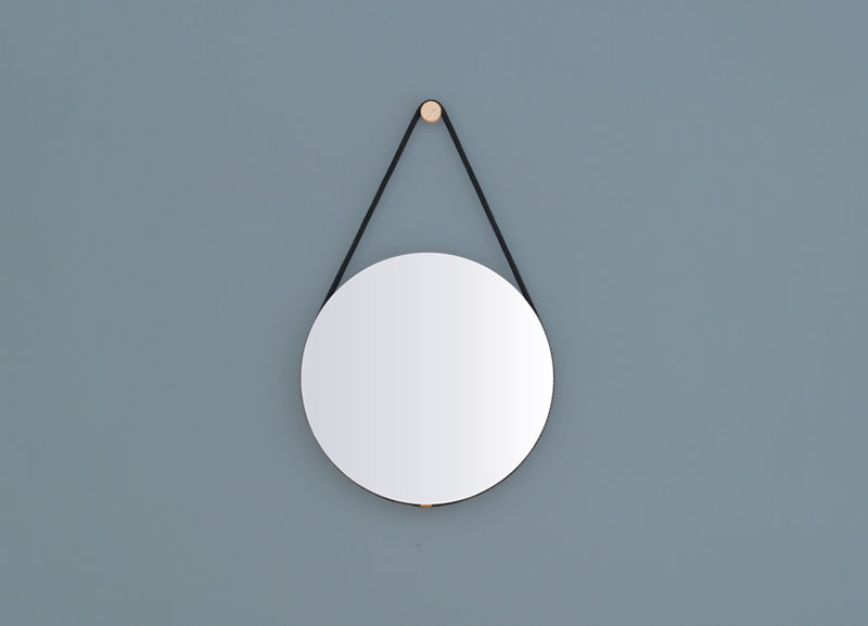 Hanging Mirror by Lukas Peet 3