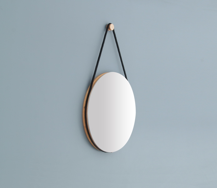 Hanging Mirror by Lukas Peet 5