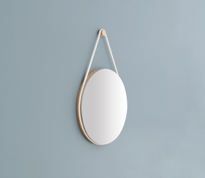 Hanging Mirror by Lukas Peet 6