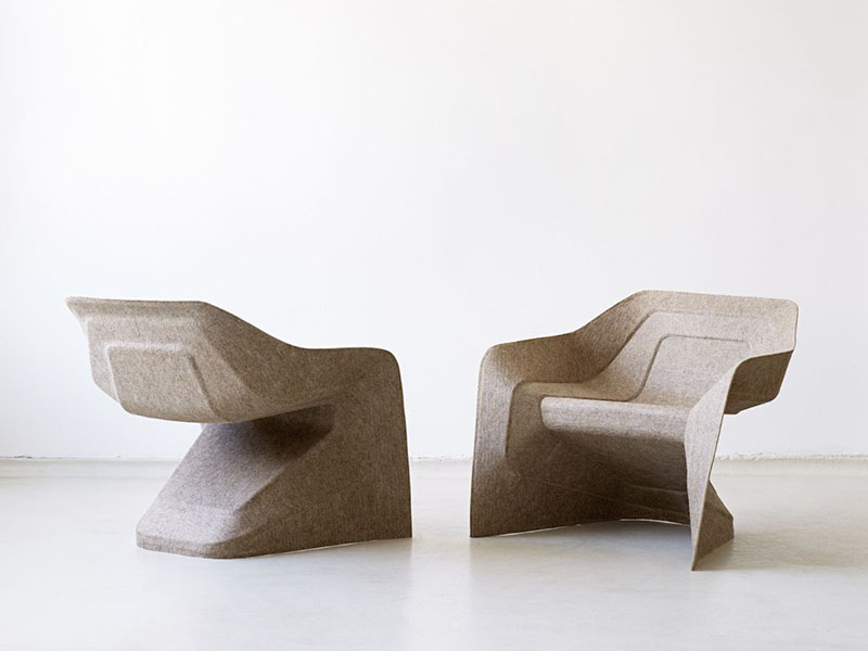 Monobloc Chair Hemp by Studio Aisslinger 1