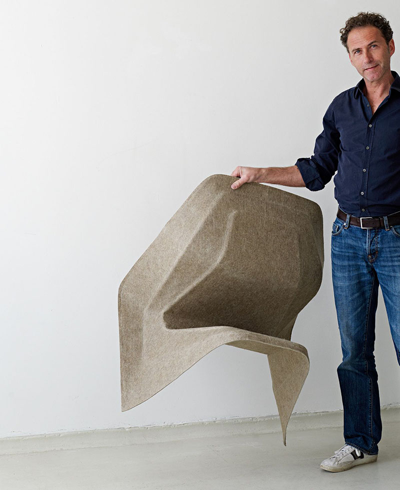 Monobloc Chair Hemp by Studio Aisslinger 6