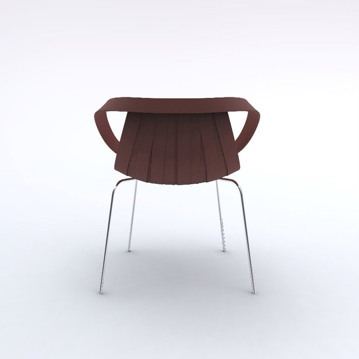 Impossible Wood Chair by Doshi Levien for Moroso 3