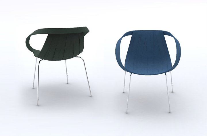 Impossible Wood Chair by Doshi Levien for Moroso 4