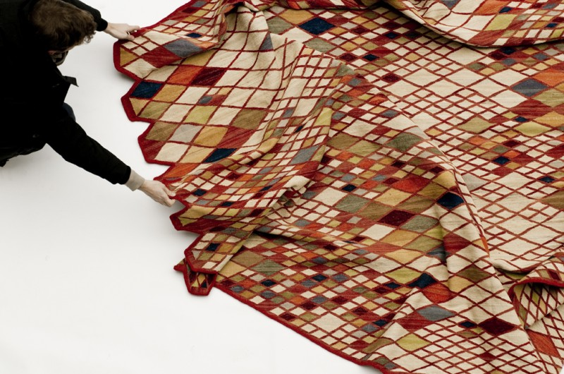Losanges Rug by Ronan and Erwan Bouroullec 6