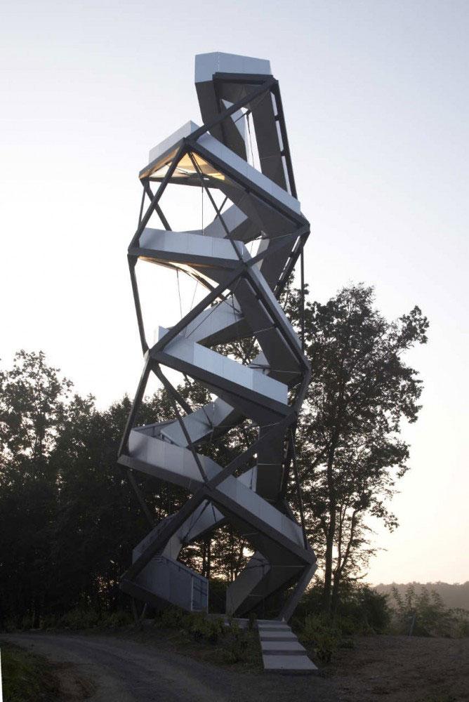 Murturm Nature Observation Tower by Terrain 4