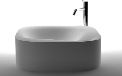 Modern Bathroom Sink Nivis by Shiro Studio