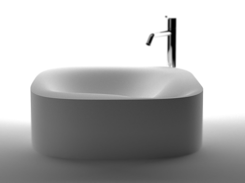 Nivis bathroom Sink by Shiro Studio 1