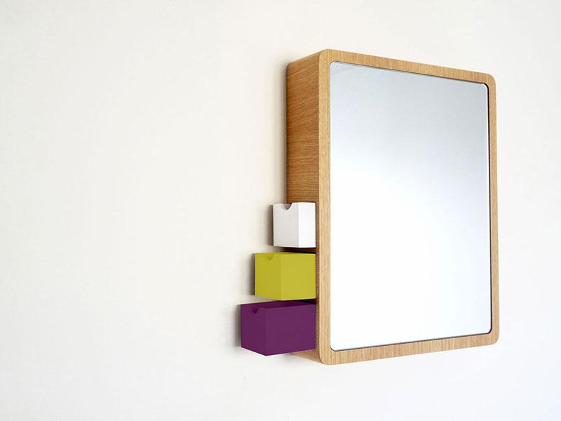 Precious Mirror with storage drawer 1