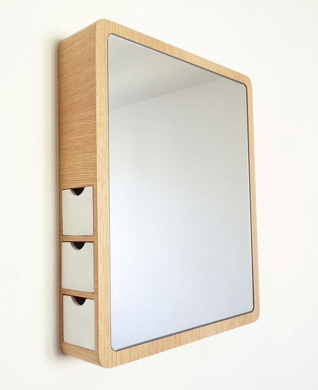 Precious Mirror with storage drawer 2