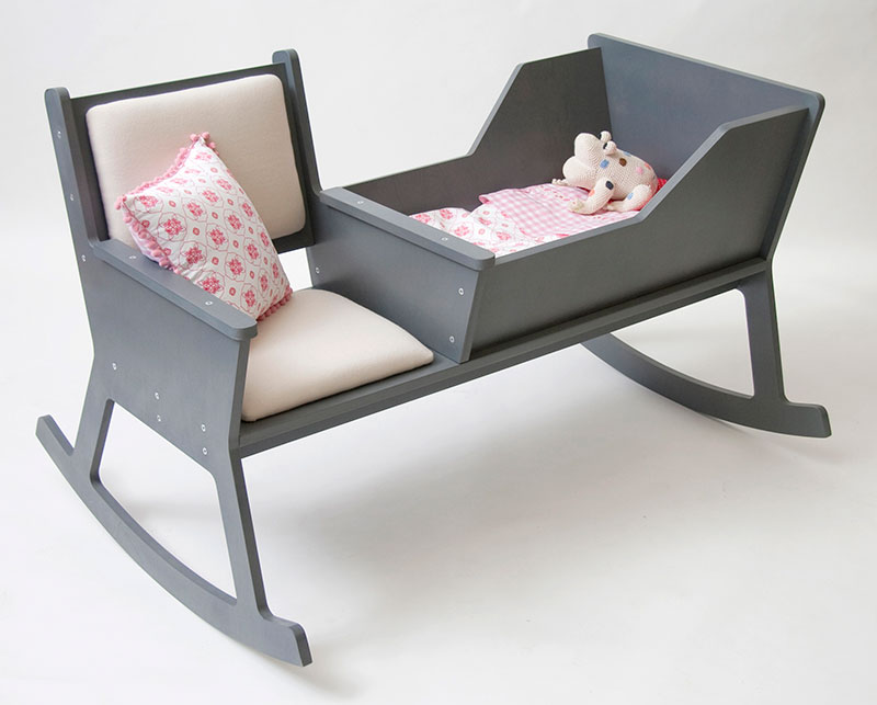 Rockid A rocking chair and cradle in one 2