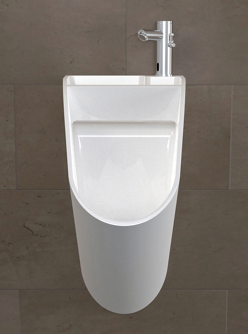 Tandem Urinal-cum-Sink 2