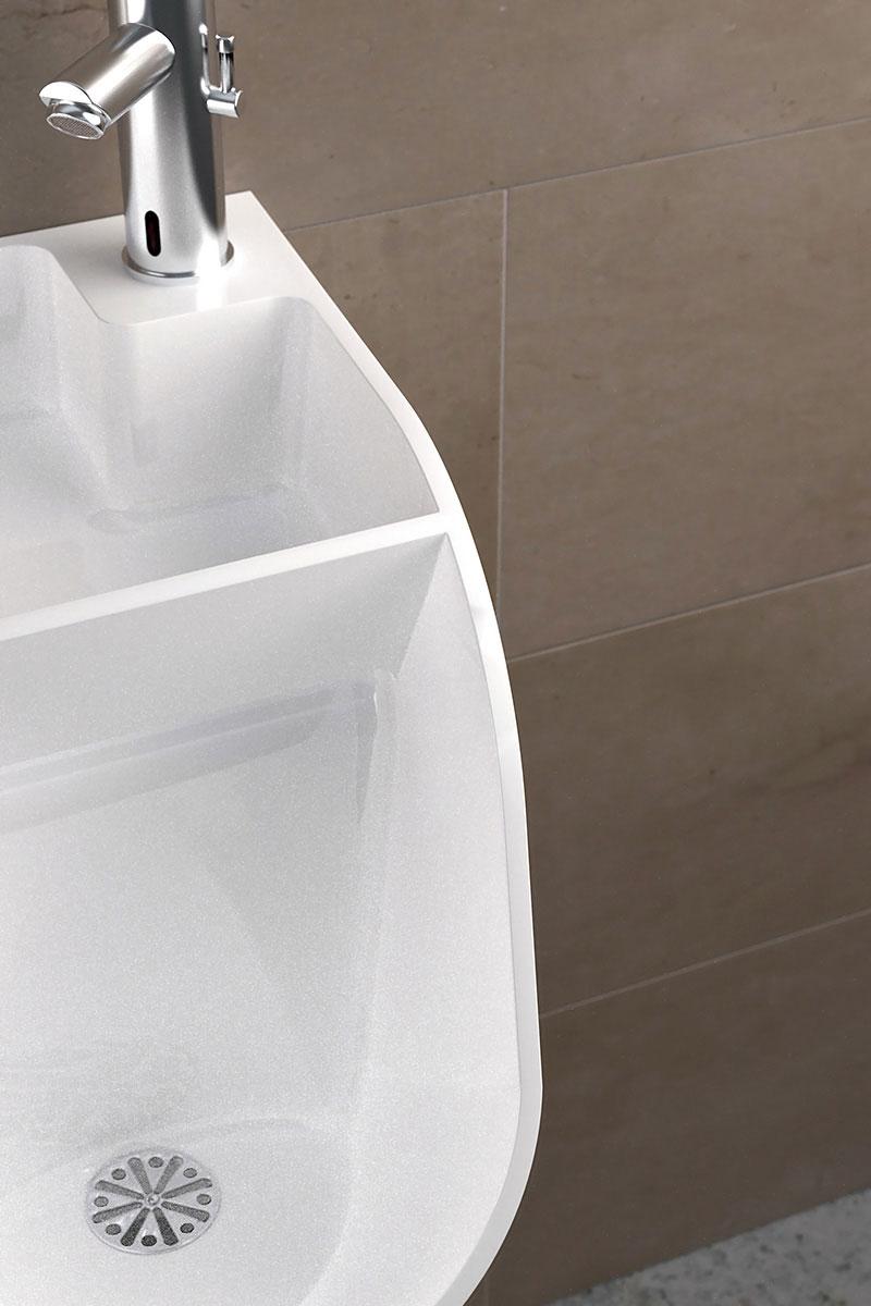 Tandem Urinal-cum-Sink 5