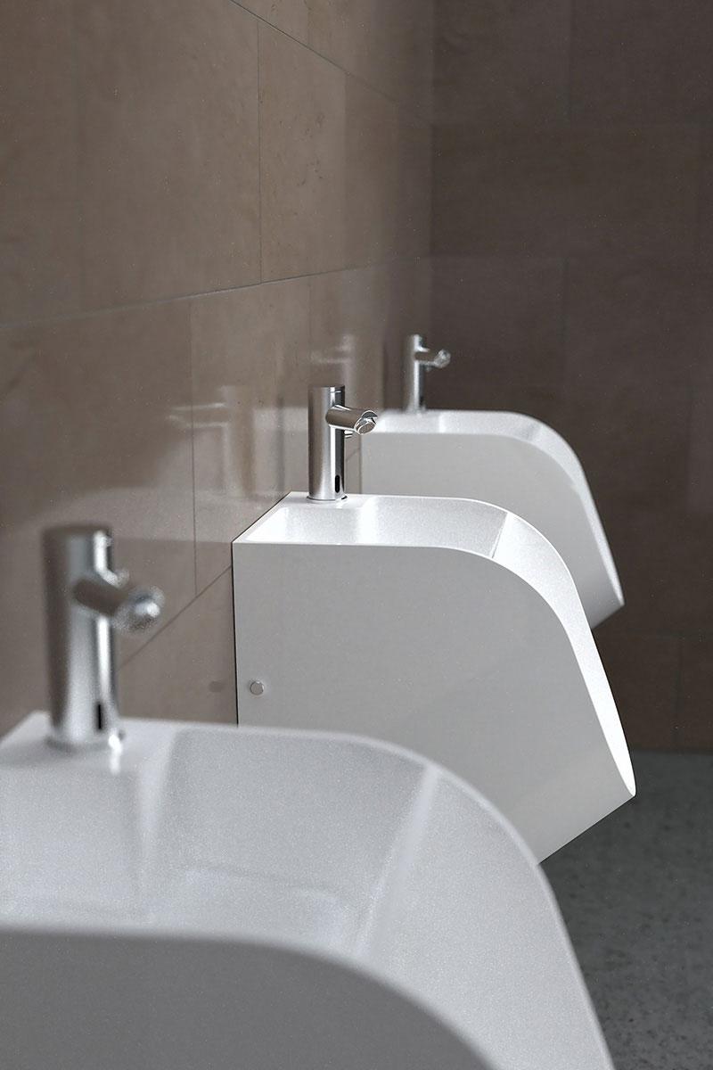 Tandem Urinal-cum-Sink 6