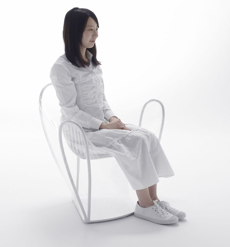 Transparent Chair by Nendo 2