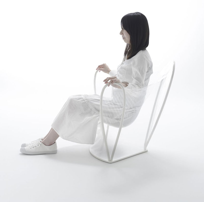 Transparent Chair by Nendo 3