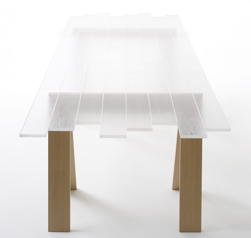 Transparent Table by Nendo 4