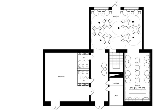 Twister Restaurant Interior Design 10
