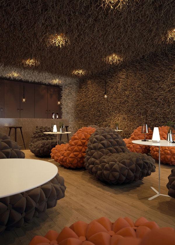 Twister Restaurant Interior Design 4