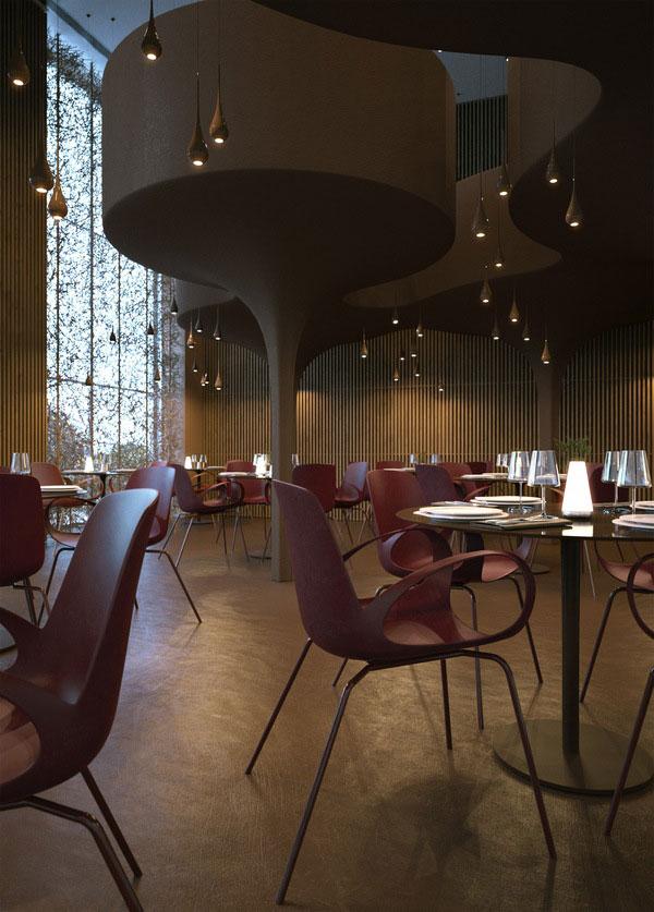 Twister Restaurant Interior Design 5