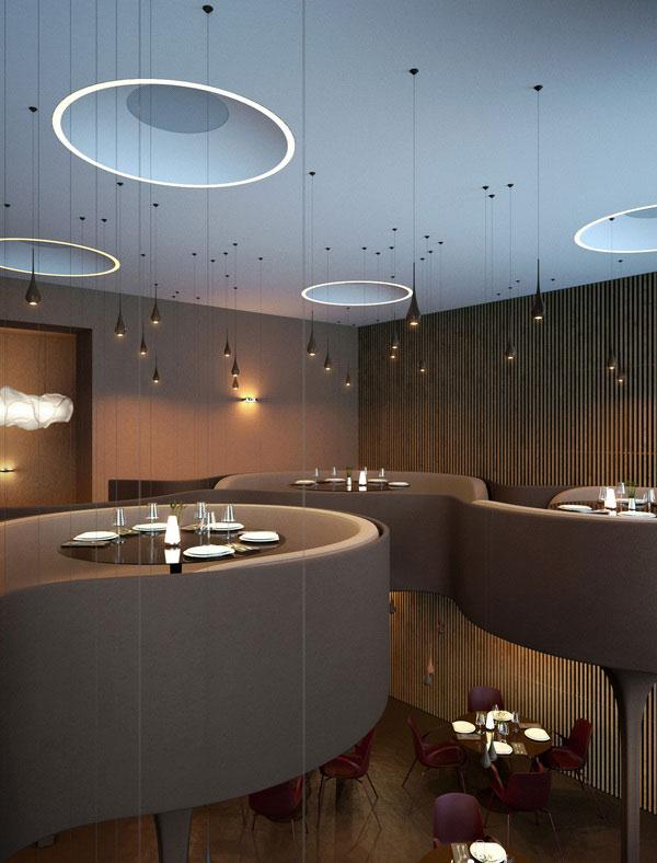 Twister Restaurant Interior Design 7