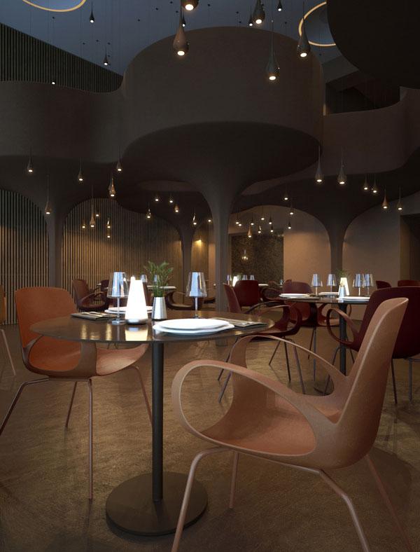 Twister Restaurant Interior Design 9
