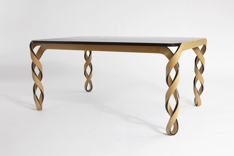 Table Legs Designs : watson table designed by american designer paul loebach is named after ...