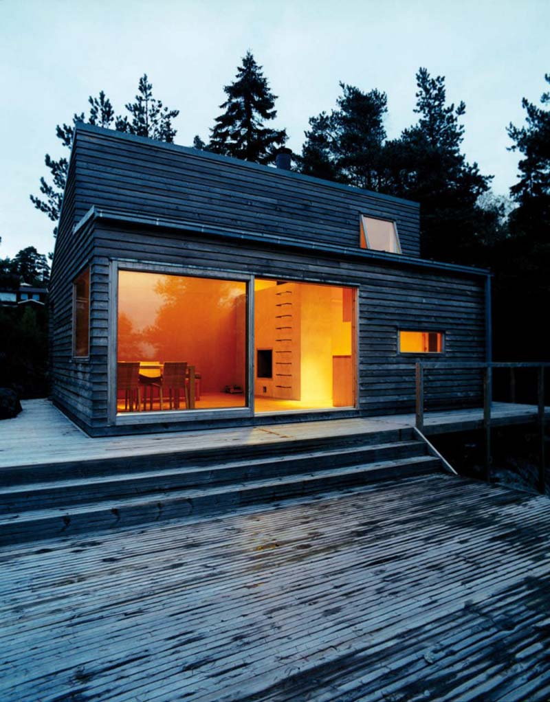 Solid Wood Cabin Woody 35 by Marianne Borge 2