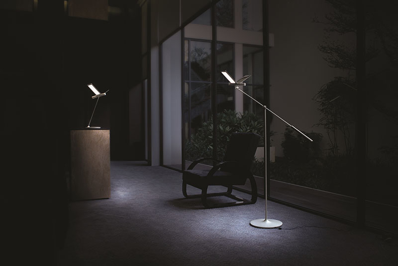 Seagull Floor Lamp 2
